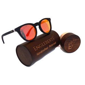 Sunset Mirror Lenses with Black Bamboo